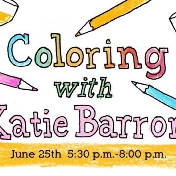 Coloring with Katie Barron