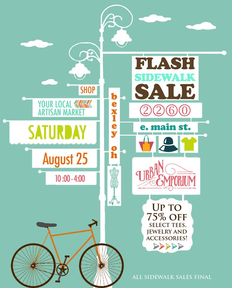 New Sidewalk Sale Graphic